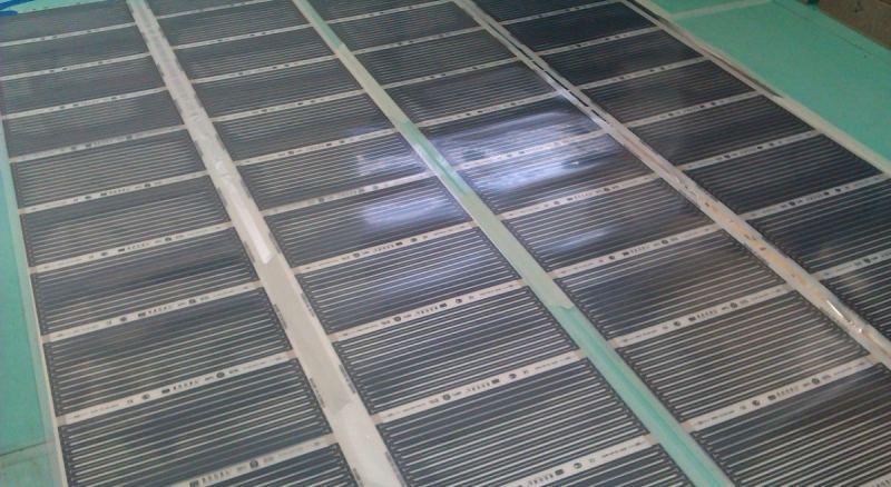 Инфракрасный теплый пол: пленочная система и ее применение для частного дома (110 фото)