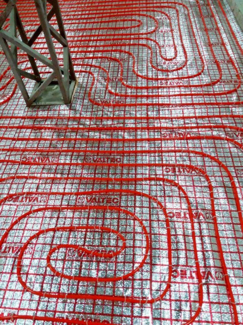 Теплый пол улитка: особенности размещения, схемы и нюансы укладки своими руками (130 фото)