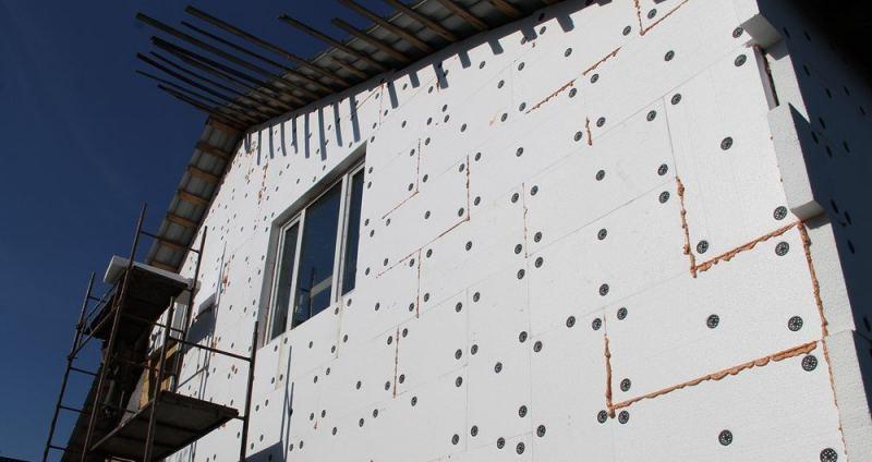 Утепление пенопластом - наружное и внутреннее утепление домов своими руками. 125 фото и видео применения материала