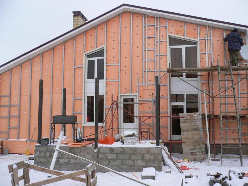 Утепление стен - пошаговый мастер-класс и советы как применить современные материалы и конструкции (145 фото и видео)