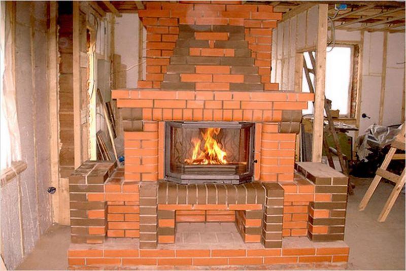Дровяные камины - пошаговая инструкция по применению и советы по отоплению дровами (105 фото)