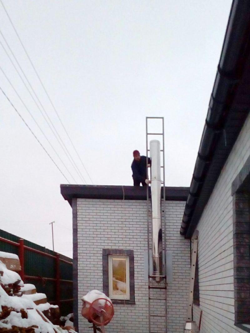 Дымоход через стену: особенности, правила расчета и монтажа. Устройство дымохода и его установка (125 фото)
