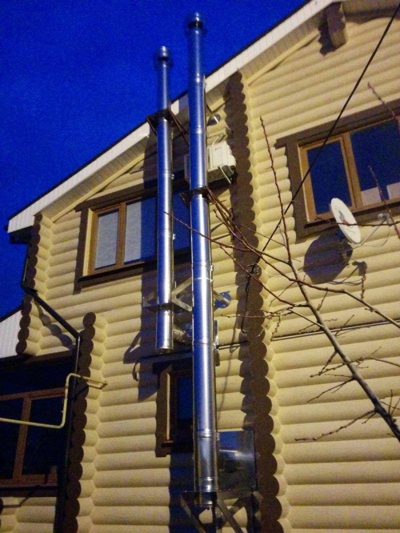 Дымоход для газового котла - виды дымоходов, нормы, требования к монтажу. 105 фото и пошаговая инструкция по установке
