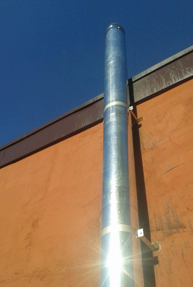 Дымоход для твердотопливного котла - расчет размера, схемы применения, виды и устройство дымохода (145 фото)