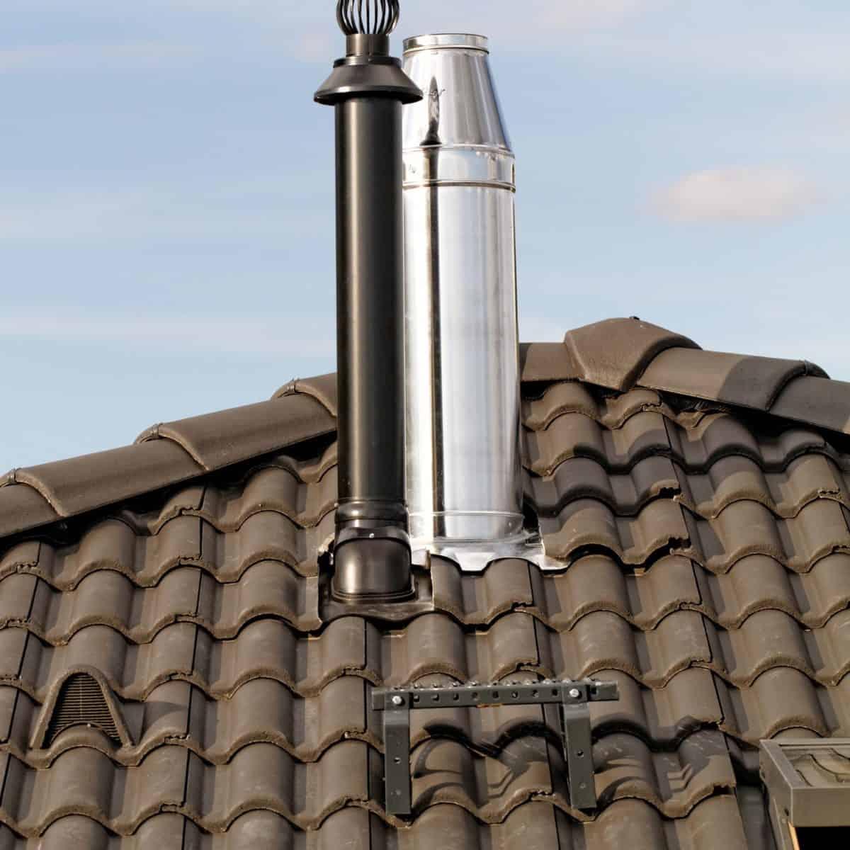 Дымоходы для газовых котлов: нормы и требования к проекту. Современные модели и материалы для дымоходов (135 фото)