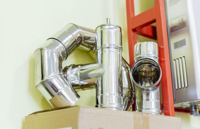 Дымоходы из нержавеющей стали: основные характеристики, правила монтажа и советы по выбору и применению нержавейки (125 фото)