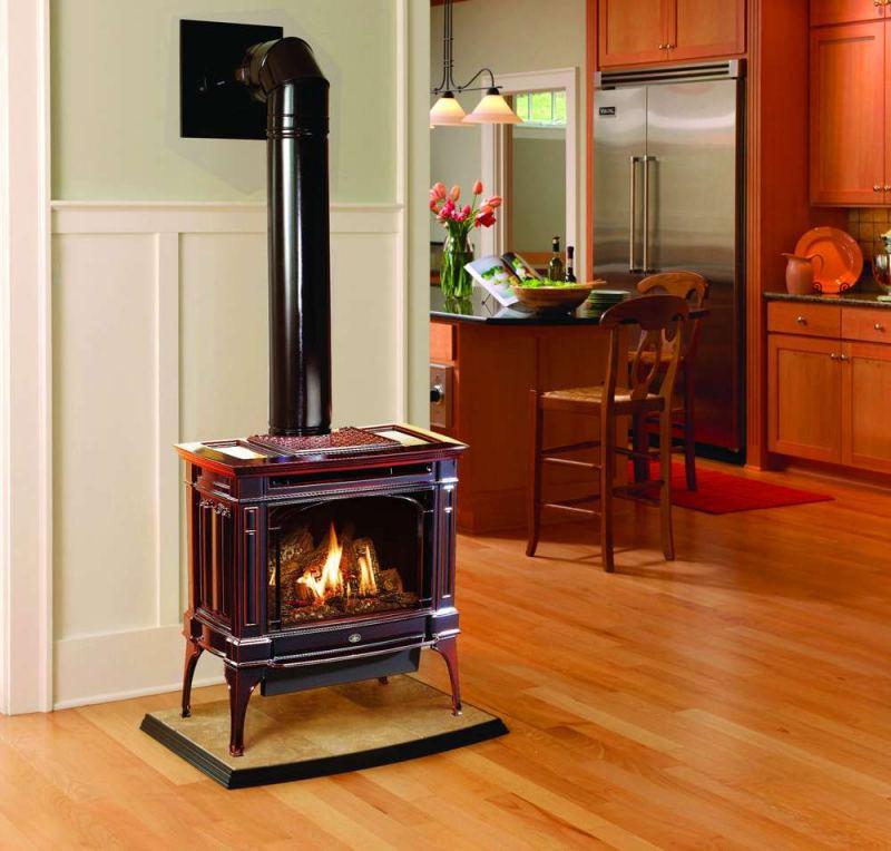 Газовая печь - советы и рекомендации по монтажу и отопления частного дома (110 фото и видео)