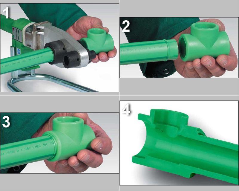 Как паять пластиковые трубы - пошаговое описание от А до Я как правильно и надежно спаять трубы (140 фото + видео)