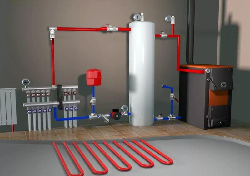 Как сделать водяное отопление: пошаговая инструкция и схемы как своими руками построить систему отопления (95 фото)