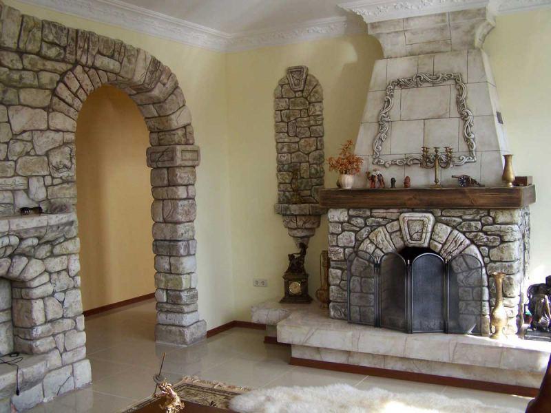 Камин из кирпича - схемы кладки, пошаговая инструкция, схемы и недостатки (видео + 110 фото)
