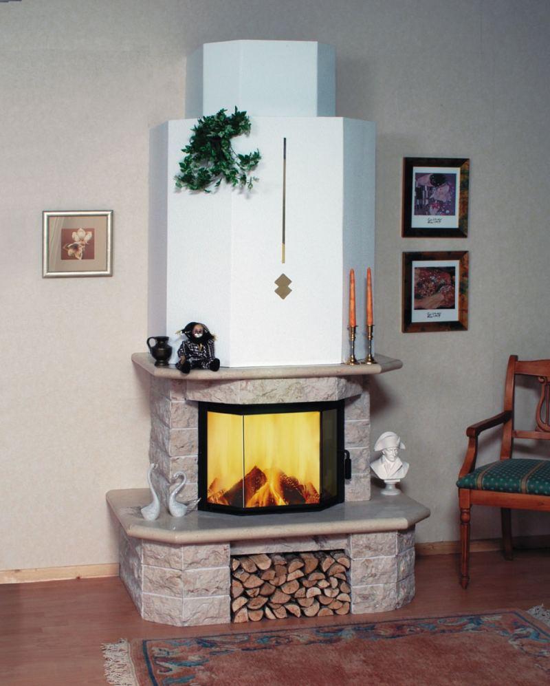 Камин с контуром отопления - актуальные модели, советы по выбору и установке (125 фото + видео)