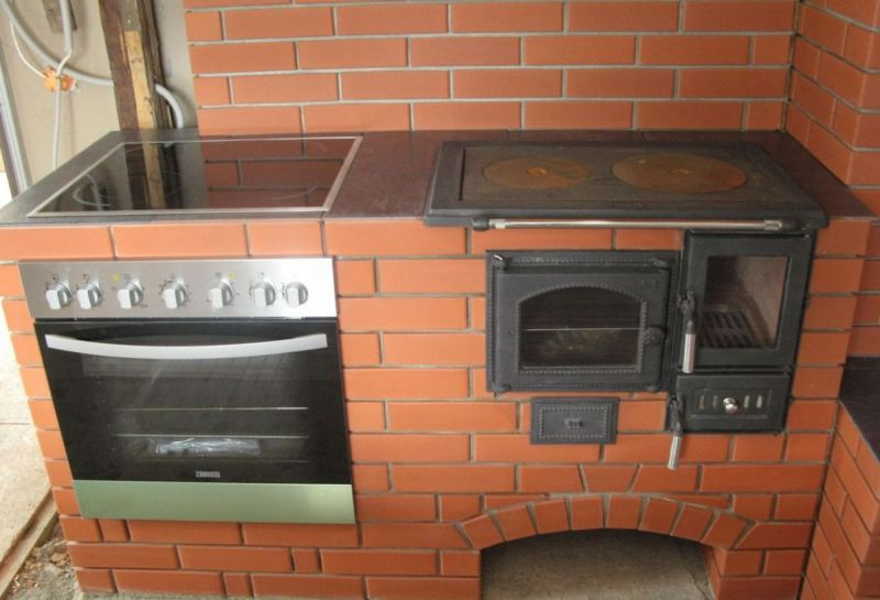 Кирпичная печь: варианты кладки, разновидности печей и особенности постройки дымоотвода (90 фото)