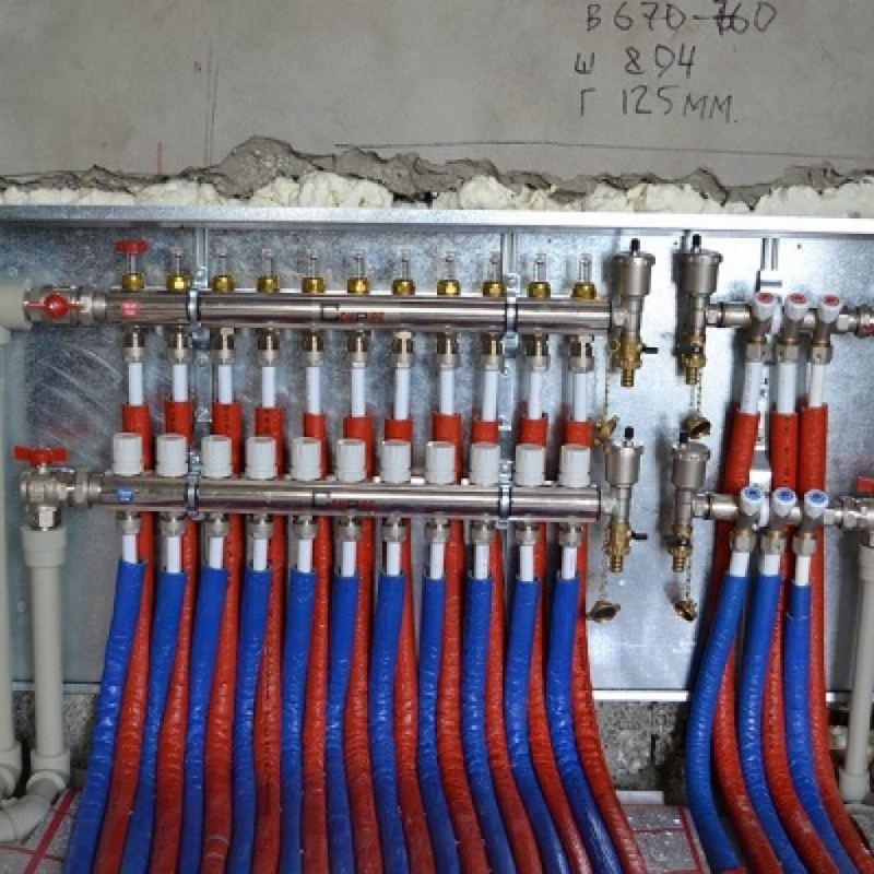 Коллекторная система отопления - принцип работы и советы как сделать своими руками коллектор (125 фото)