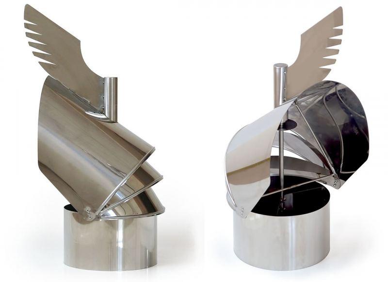 Колпак на трубу дымохода: виды, варианты применения, задачи и монтаж элемента (110 фото)