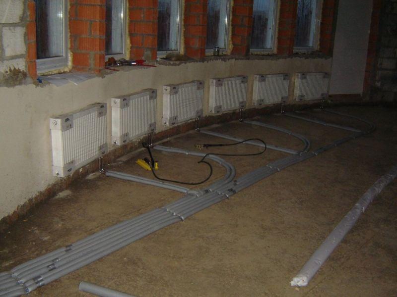 Подключить отопление в частном доме своими руками - пошаговое описание правильного подключения различных систем отопления (видео и 95 фото)