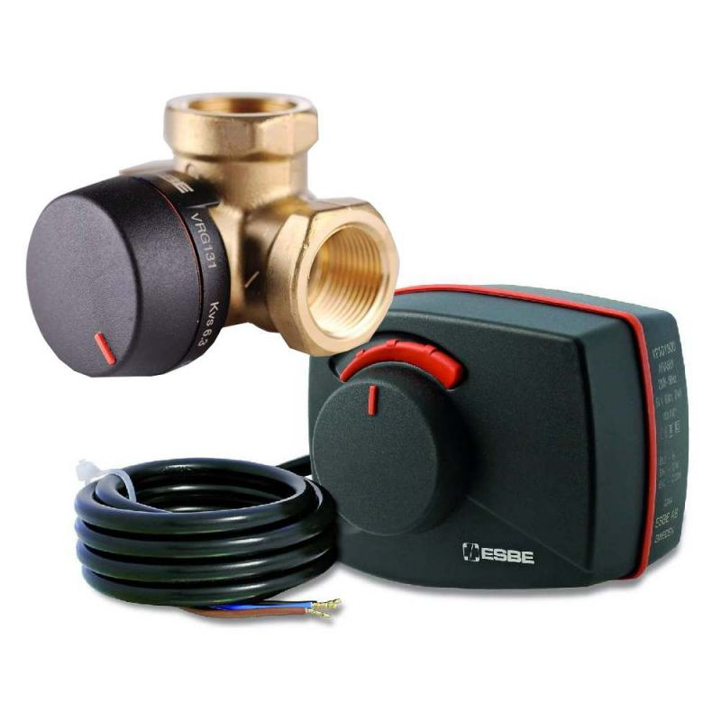 Трехходовой клапан для отопления: устройство, принцип действия и применение в схеме отопления (95 фото)