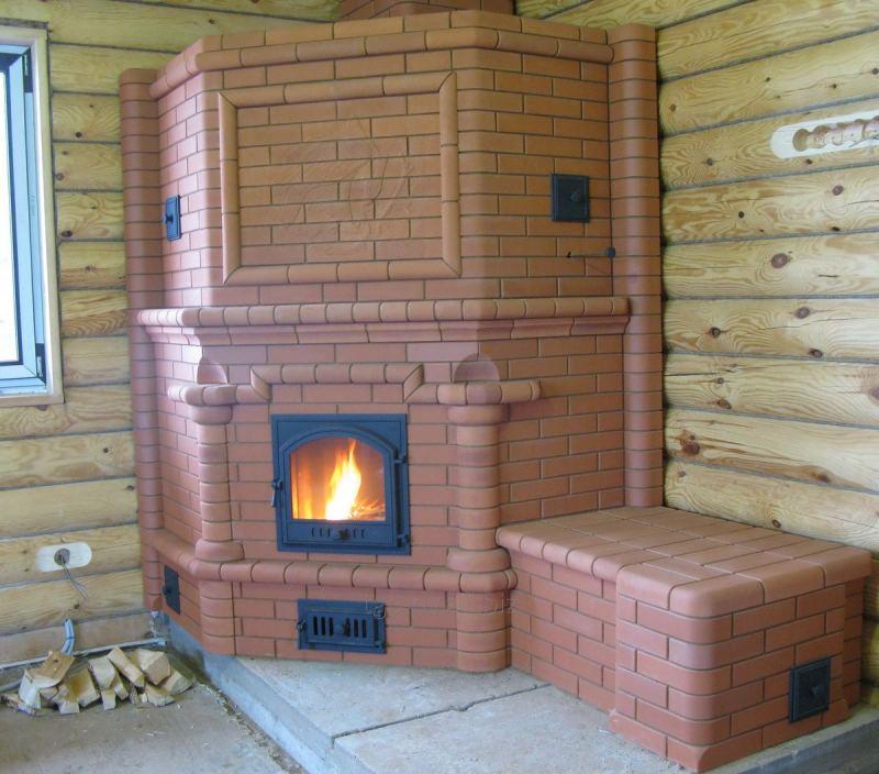 Угловая печь - 150 фото лучших моделей и видео монтажа. Особенности применения угловых моделей печей