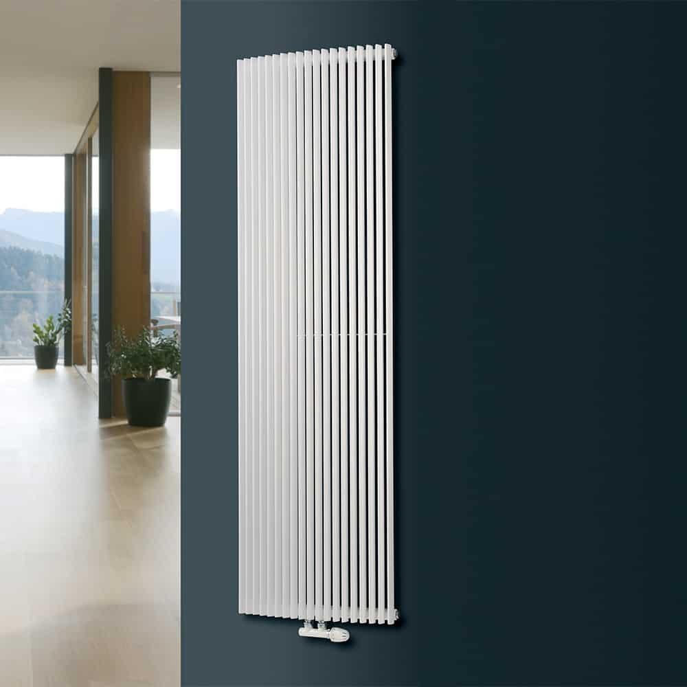 Вертикальные радиаторы отопления - как выбрать идеальный радиатор отопления и особенности его применения (90 фото + видео)
