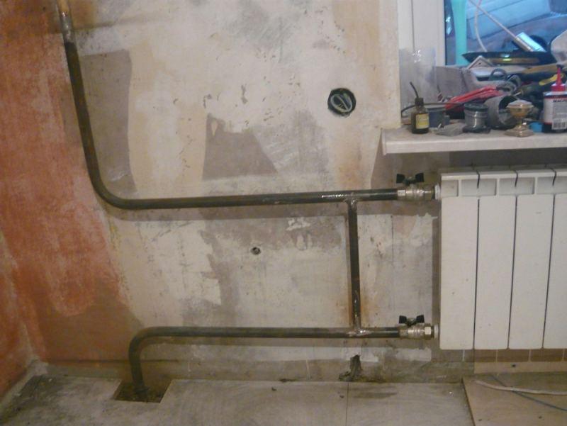 Замена труб отопления - пошаговое описание как произвести основные монтажные работы (115 фото и видео)