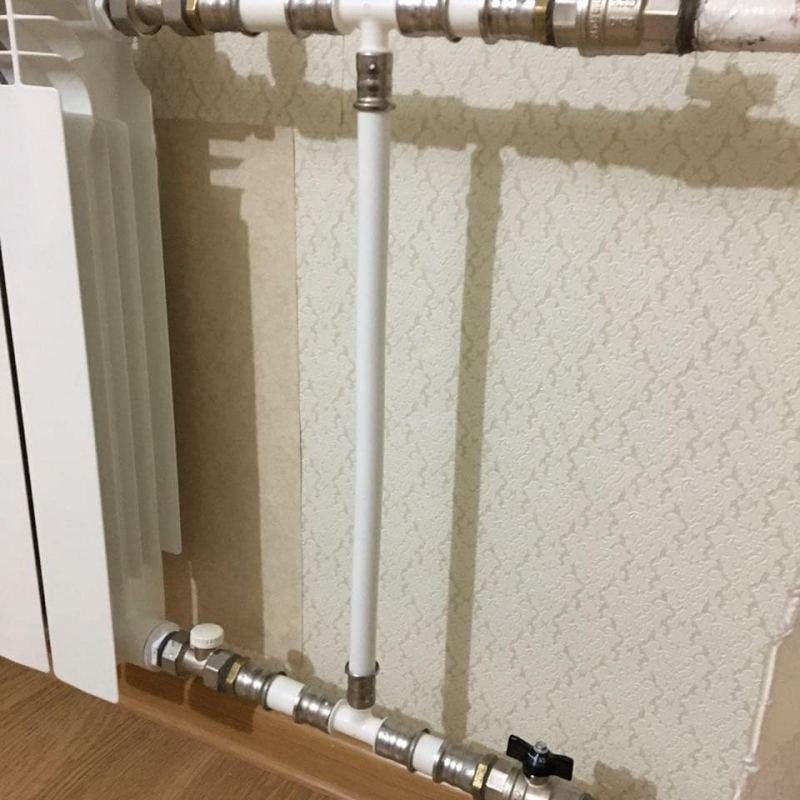 Обвязка радиаторов отопления - схемы подключения и варианты выбора способа подключения (чертежи + 90 фото)