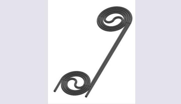 Одноплоскостные спиралевидные ТЭНы