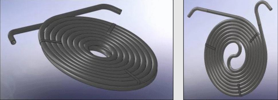 Плоскоспиральные трубные элементы